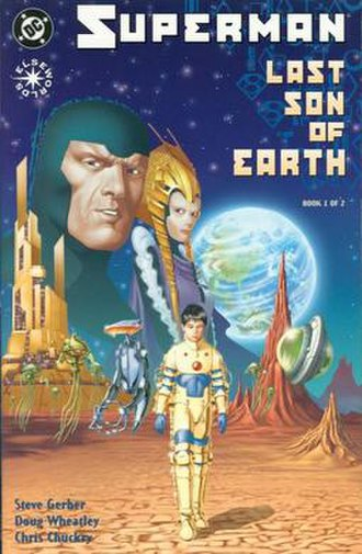 Superman: Last Son of Earth - Cover to Superman: Last Son of Earth Art by Doug Wheatley
