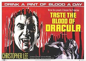 Taste the Blood of Dracula - Promotional poster