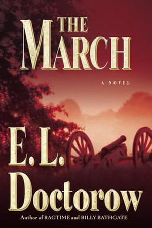 The March (novel) - Cover of the first edition