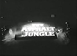 The Asphalt Jungle title card