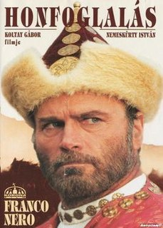<i>The Conquest</i> (1996 film) 1996 Hungarian film directed by Gábor Koltay