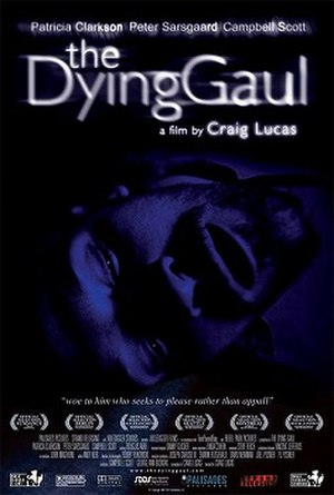 The Dying Gaul (film) - Original poster