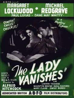 <i>The Lady Vanishes</i> 1938 film by Alfred Hitchcock