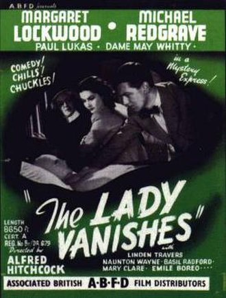 The Lady Vanishes - Image: The Lady Vanishes 1938 Poster