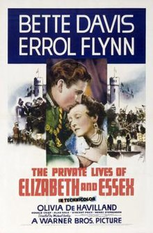 Image result for the private lives of elizabeth and essex (1939)