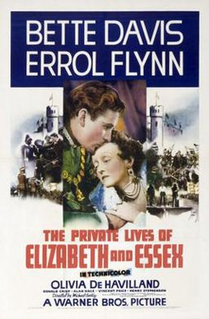 The Private Lives of Elizabeth and Essex - Image: The Private Lives of Elizabeth and Essex Poster