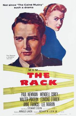 The Rack (film) - Theatrical releast poster