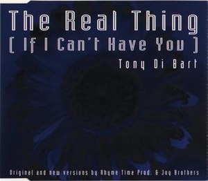 The Real Thing (Tony Di Bart song) - Image: The Real Thing (Tony Di Bart song)