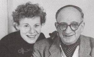 Margret Rey - Margret Rey with her husband, H. A. Rey