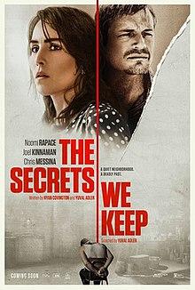 The Secrets We Keep 2020 USA Yuval Adler Noomi Rapace Joel Kinnaman Chris Messina  Drama, Thriller