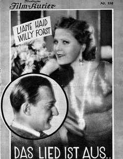 <i>The Song Is Ended</i> 1930 film