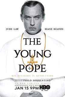<i>The Young Pope</i> 2016 Italian-Spanish-American-British-French television miniseries