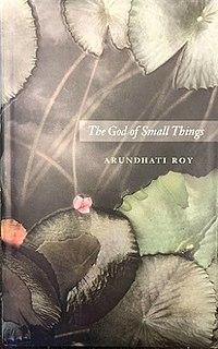 <i>The God of Small Things</i> Debut novel of Indian writer Arundhati Roy