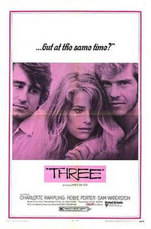 Three (1969 film) - Theatrical release poster