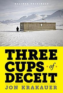 Image result for three cups of deceit