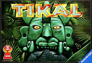 Tikal (board game) - Image: Tikal game