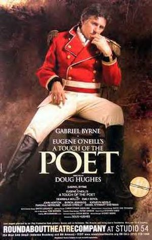 A Touch of the Poet - Poster for the 2005 Broadway revival with Gabriel Byrne