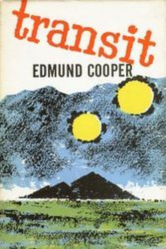 Transit (Cooper novel) - First edition. Cover art by Brian Rigby