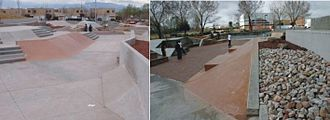 Alamosa Skatepark Environment - The Trenches