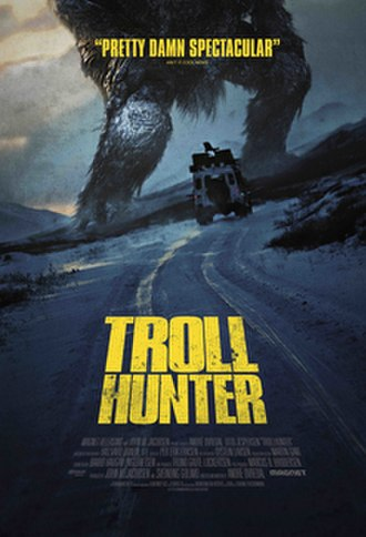 Trollhunter - Theatrical release poster