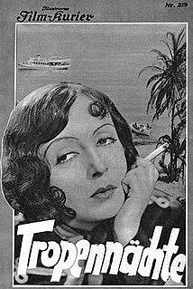 <i>Tropical Nights</i> (1931 film) 1931 film