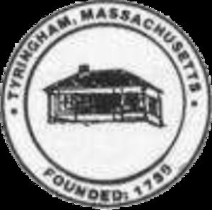Tyringham, Massachusetts - Image: Tyringham MA seal