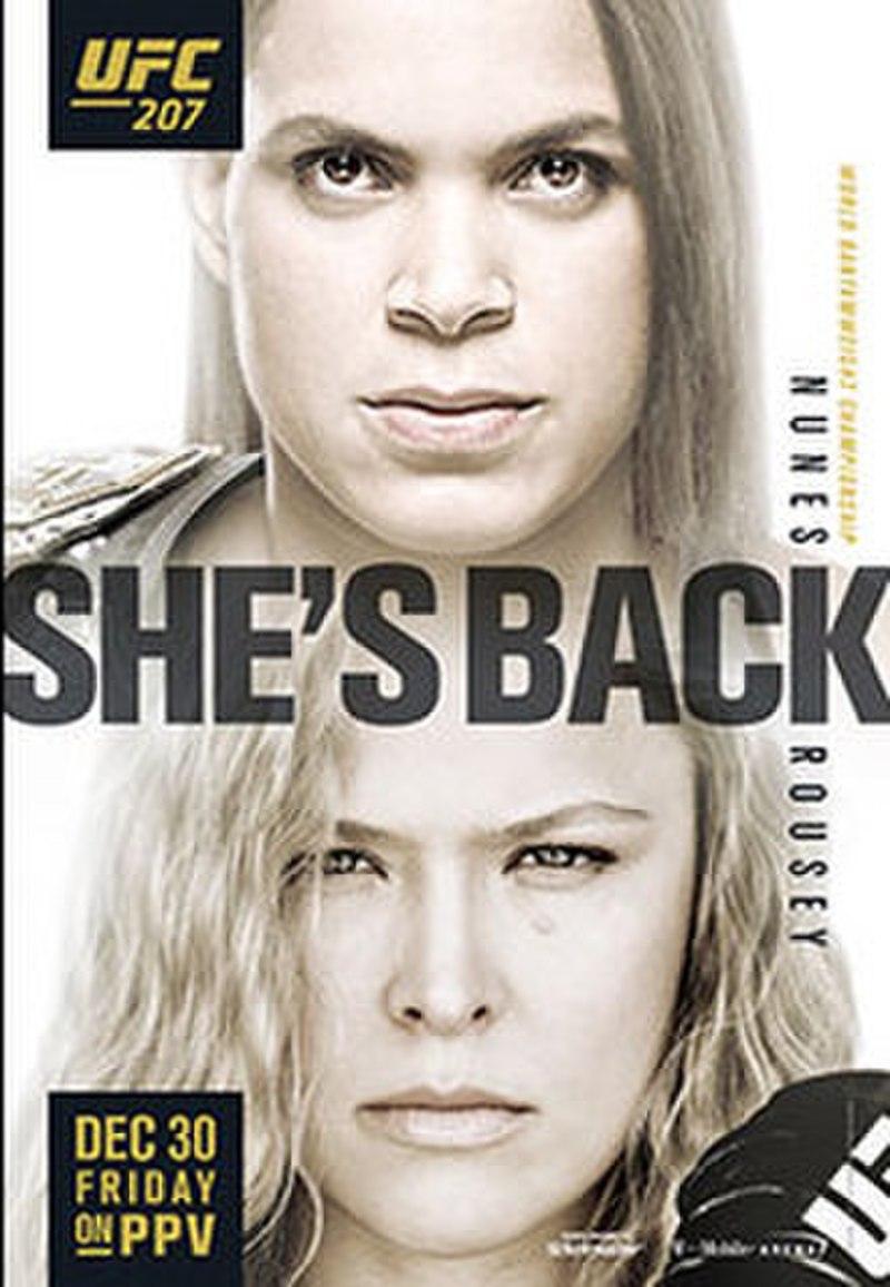 UFC 207: Nunes vs Rousey  800px-UFC_207_Poster
