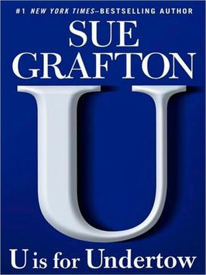 """U"" Is for Undertow - 1st edition cover"