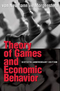 <i>Theory of Games and Economic Behavior</i> book by John von Neumann