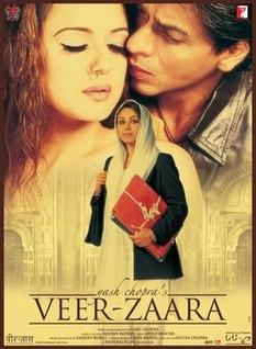 <i>Veer-Zaara</i> 2004 Indian romantic drama film directed by Yash Chopra