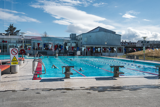 Vesturbær - Vesturbæjarlaug in Vesturbær District Reykjavík