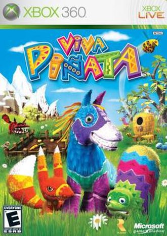 Viva Piñata (video game) - Image: Viva Piñata cover