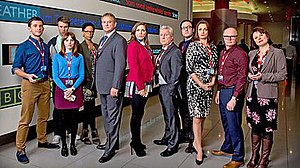 W1A (TV series) - Main cast of W1A (series two)