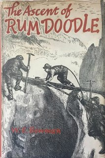 <i>The Ascent of Rum Doodle</i> book by William Ernest Bowman