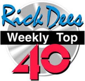Rick Dees Weekly Top 40 - The Weekly Top 40 logo
