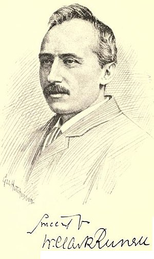 William Clark Russell - Russell during 1894.