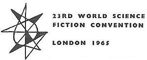 23rd World Science Fiction Convention - Image: Worldcon 1965 London logo