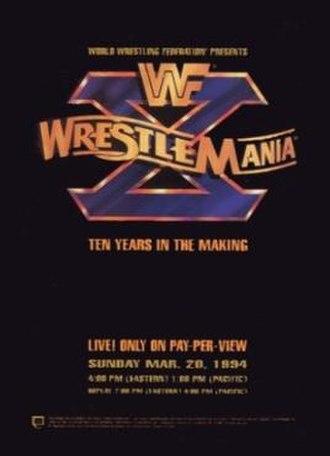 WrestleMania X - Image: Wrestle Mania X