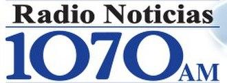 XESP-AM - Image: XESP Radio Noticias 1070 logo