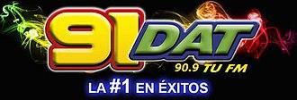 XHQRT-FM - Image: XHQRT 91dat logo