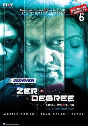 Zero Degree (film) - Theatrical release poster
