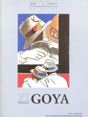 11th Goya Awards - Image: 11th Goya Awards logo