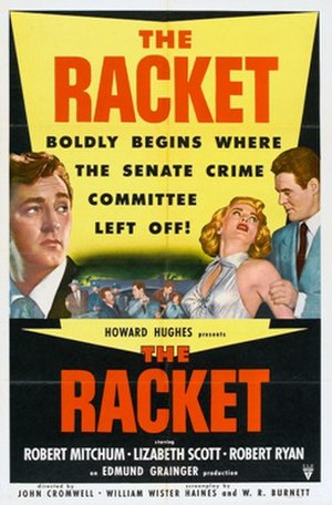 The Racket (1951 film) - Theatrical release poster