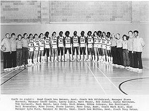 1977–78 Illinois Fighting Illini men's basketball team - Image: 1977–78 Illinois Fighting Illini men's basketball team