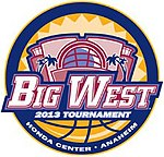 Big West Tournament Logo