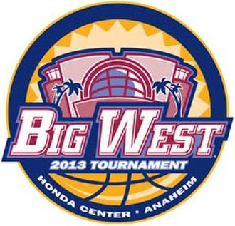 2013 Big West Conference Men's Basketball Tournament - Big West Tournament Logo
