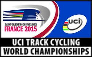 2015 UCI Track Cycling World Championships - Image: 2015 UCI Track Cycling World Championships logo