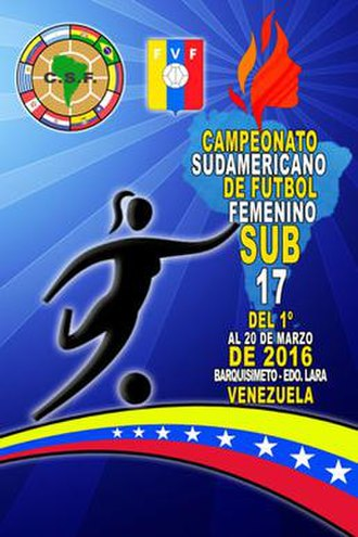 2016 South American U-17 Women's Championship - Image: 2016 South American Under 17 Women's Football Championship