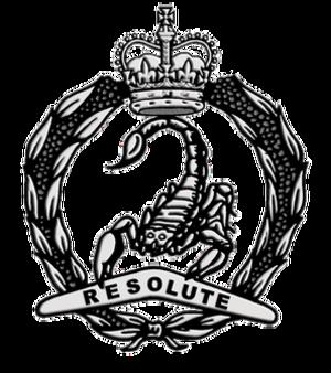 3rd/4th Cavalry Regiment (Australia) - Cap badge of 3rd/4th Cavalry Regiment