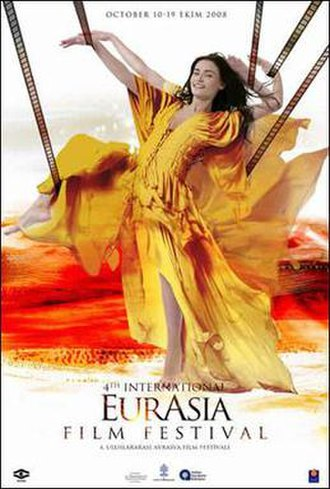 4th International Eurasia Film Festival - Festival Poster by Emrah Yucel